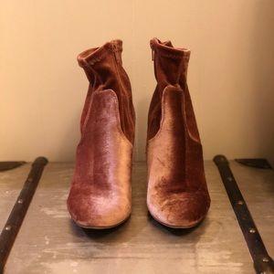 Suede Mauve Shoes